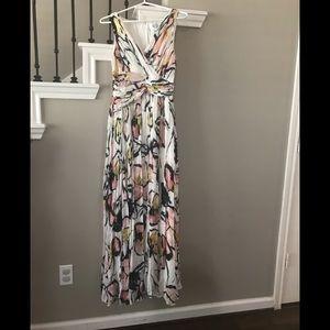 Badgley Mischka floral dress nwot